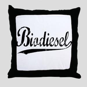 Biodiesel Throw Pillow
