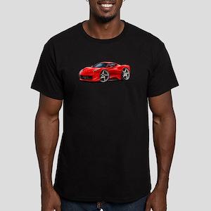 458 Italia Red Car Men's Fitted T-Shirt (dark)