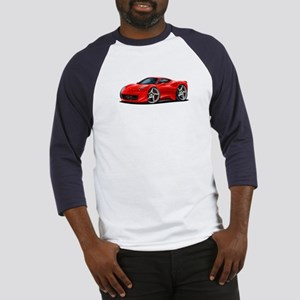 458 Italia Red Car Baseball Jersey