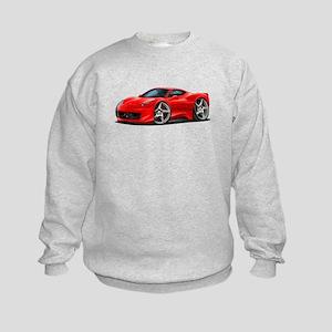 458 Italia Red Car Kids Sweatshirt