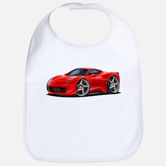 458 Italia Red Car Bib