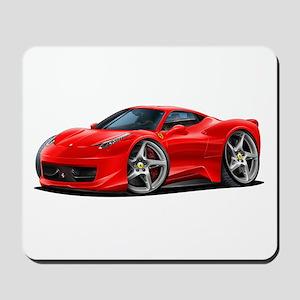 458 Italia Red Car Mousepad