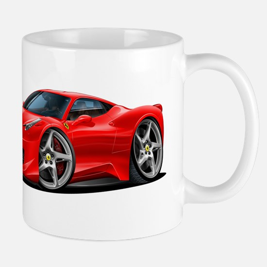 458 Italia Red Car Mug