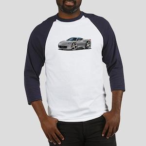 458 Italia Silver Car Baseball Jersey