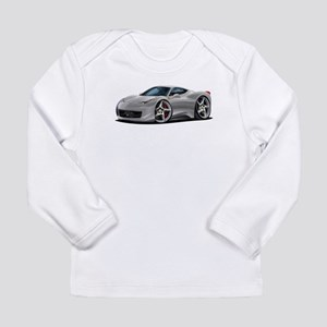 458 Italia Silver Car Long Sleeve Infant T-Shirt