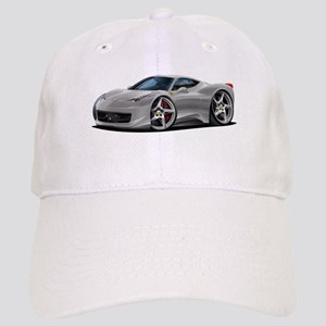 458 Italia Silver Car Cap