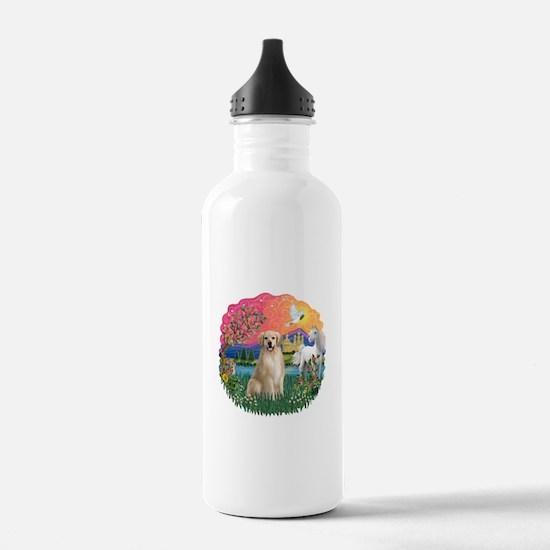 FantasyLand-Golden#8 Water Bottle