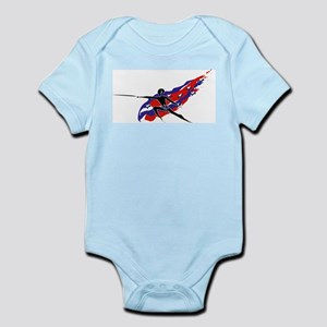USA Foil/Epee Infant Creeper
