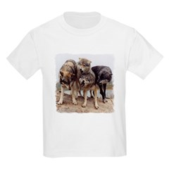 Rallying Wolves Kids T-Shirt