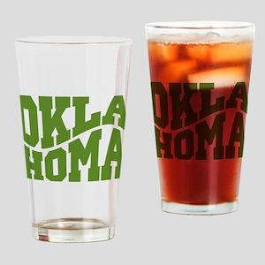 Oklahoma Drinking Glass