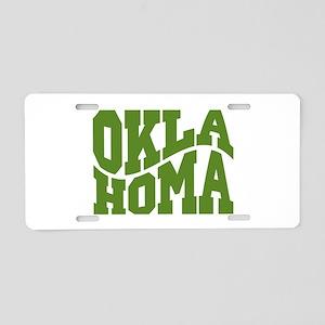 Oklahoma Aluminum License Plate