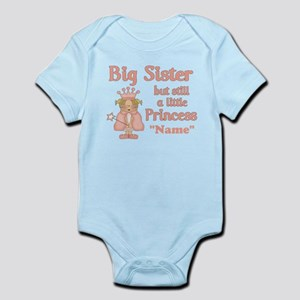 Big Sister Princess Infant Bodysuit
