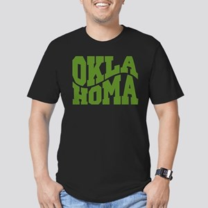 Oklahoma Men's Fitted T-Shirt (dark)