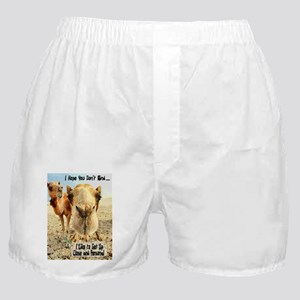 I Like to Get Up Close and Pe Boxer Shorts