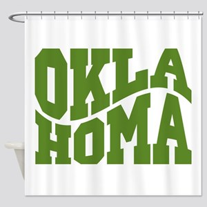 Oklahoma Shower Curtain