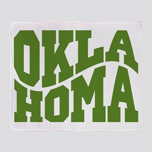 Oklahoma Throw Blanket