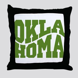 Oklahoma Throw Pillow