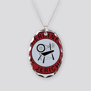 Heroines of Jericho Necklace Oval Charm