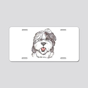 OE Sheepdog Aluminum License Plate