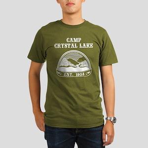 Camp Crystal Lake Organic Men's T-Shirt (dark)