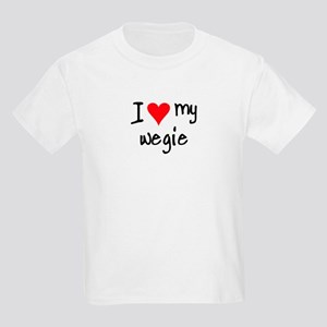 I LOVE MY Wegie Kids Light T-Shirt