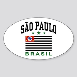 Sao Paulo Brazil (State) Sticker (Oval)