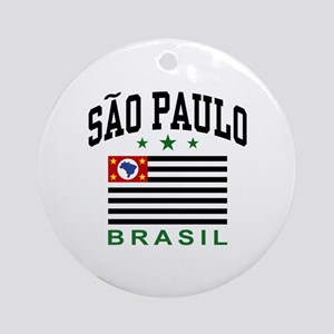 Sao Paulo Brazil (State) Ornament (Round)