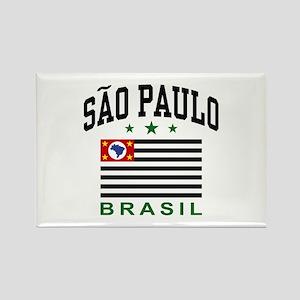 Sao Paulo Brazil (State) Rectangle Magnet