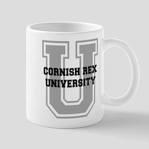 Cornish Rex UNIVERSITY Mug