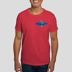 World Map Curved Rhombus: Dark 2 T-Shirt