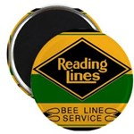 Reading Bee Lines Magnet