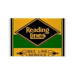 Reading Bee Lines Rectangle Magnet (100 pack)
