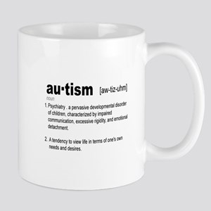 Definition Of Autism Mug