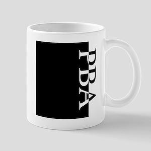 PBA Typography Mug
