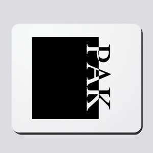 PAK Typography Mousepad
