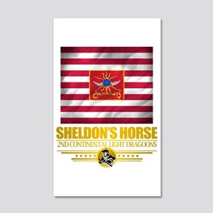 """Sheldon Horse"" 38.5 x 24.5 Wall Peel"