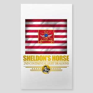 """Sheldon Horse"" Sticker (Rectangle)"