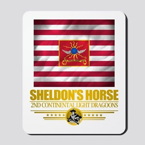 """Sheldon Horse"" Mousepad"