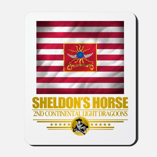 """""""Sheldon Horse"""" Mousepad"""