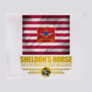 """Sheldon Horse"" Throw Blanket"