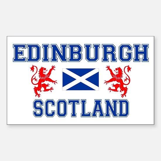 Edinburgh Rectangle Decal
