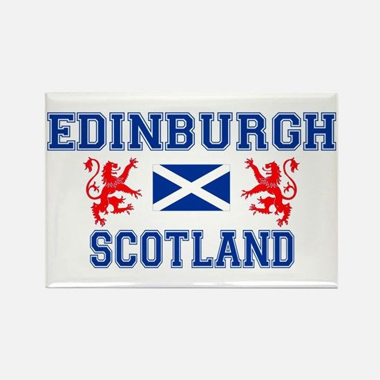 Edinburgh Rectangle Magnet