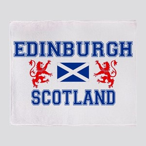 Edinburgh White Throw Blanket