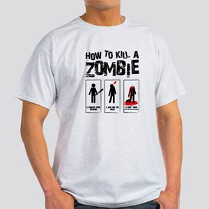 Kill Zombies Light T-Shirt
