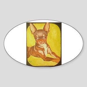 Custom Design Oval Sticker