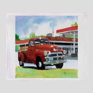 1954 Chevrolet Truck Throw Blanket