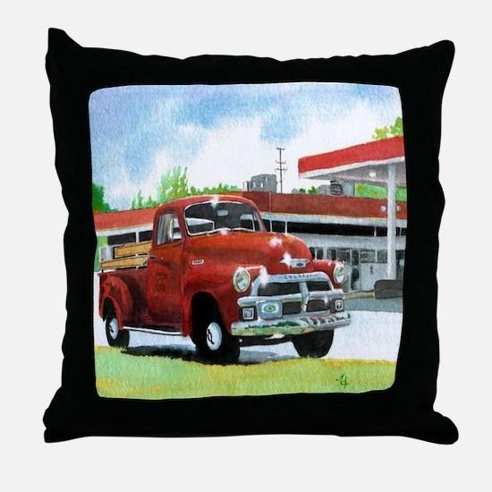 1954 Chevrolet Truck Throw Pillow