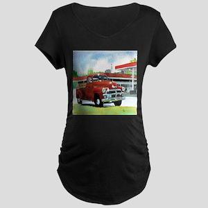 1954 Chevrolet Truck Maternity Dark T-Shirt