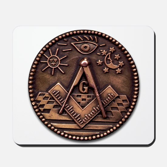 Bronze Freemasonry Mousepad