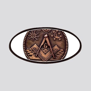 Bronze Freemasonry Patches